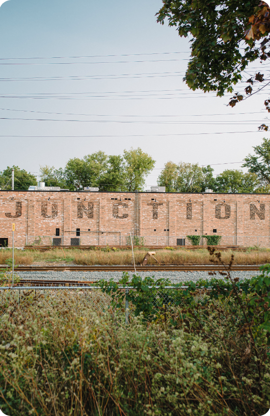 Picture of the Junction & Sunny Acres neighbourhood in Guelph.